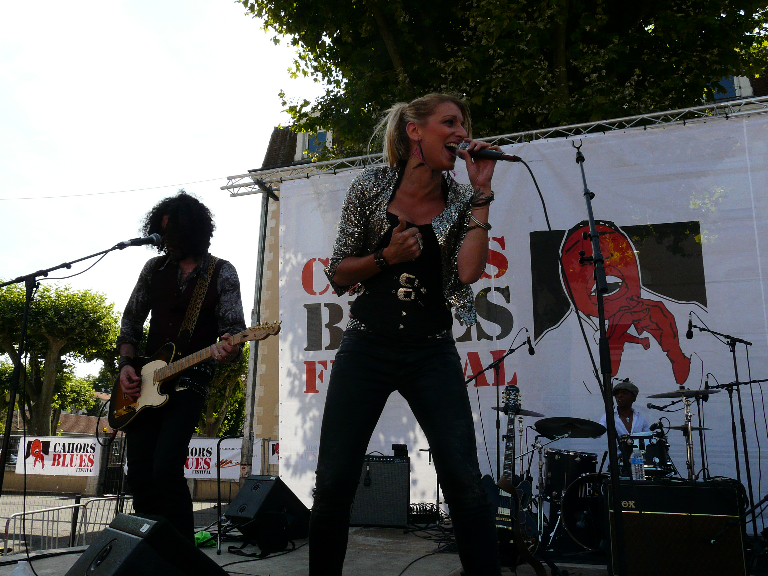 Gaelle BUSWEL Cahors Blues 2015
